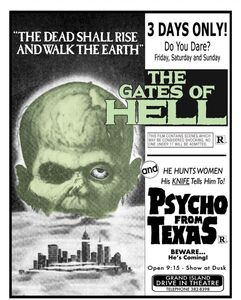 The Gates of Hell (aka City of the Living Dead) /  Psycho From Texas (aka Wheeler) (Drive-in Double Feature #6)