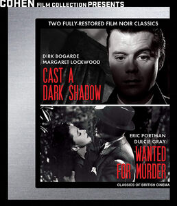 Wanted for Murder /  Cast a Dark Shadow