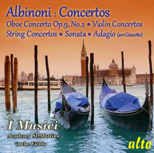 Albinoni Concertos Sonata Adagio