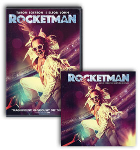 Rocketman DVD/ CD Bundle