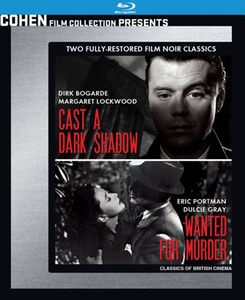 Wanted for Murder /  Cast a Dark Shadow