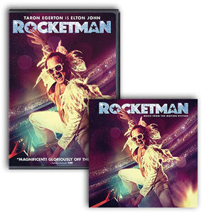 Rocketman DVD/ LP Bundle