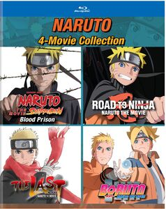 Naruto: 4-Movie Collection