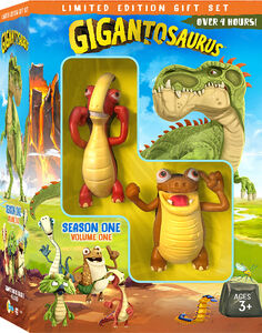 Gigantosaurus: Season 1, Vol. 1 with Figures