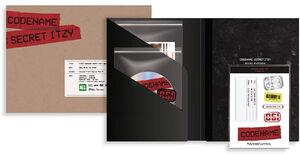 Codename: Secret Itzy (Behind DVD Photobook Package) (incl. 100pg Photobook, DVD, 5x Photo Set + Sticker) [Import]