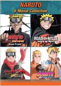 Naruto: 4-movie Collection