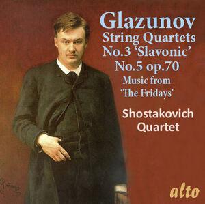 """Alexander Glazunov String Quartets No. 3 & 5; Music From """"the Fridays"""""""