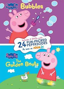 Peppa Pig: Bubbles/ The Golden Boots
