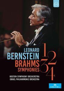Leonard Bernstein Conducts The Brahms Symphonies Nos. 1 - 4