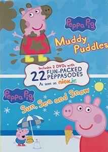 Peppa Pig: Muddy Puddles/ Sun, Sea And Snow