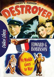Edward G. Robinson War Drama Double Feature