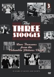 The Three Stooges: Rare Treasures From the Columbia Pictures Vault