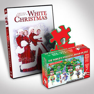 White Christmas Dvd And Puzzle Bundle