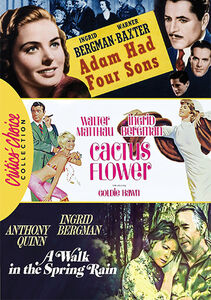 Ingrid Bergman Romance Triple Feature