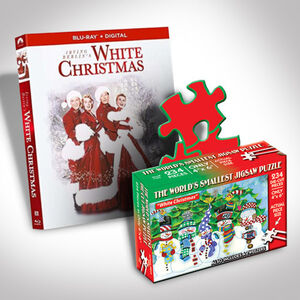 White Christmas Blu-ray And Puzzle Bundle