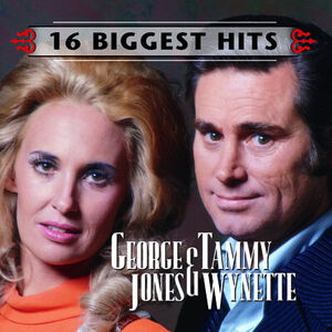 George Jones & Tammy Wynette - 16 Biggest Hits