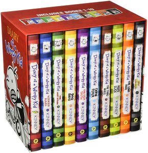 DIARY OF A WIMPY KID BOX OF BOOKS BOOKS 1-10