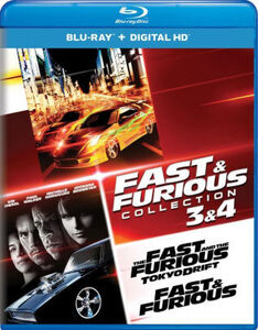 Fast And Furious: Collection: 3 And 4