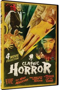 Classic Horror: Five, The Mad Magician, Man Who Turned To Stone