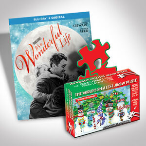 It's A Wonderful Life Blu-ray And Puzzle Bundle