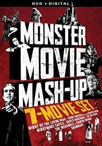 Monster Movie Mashup - 7 Film Collection