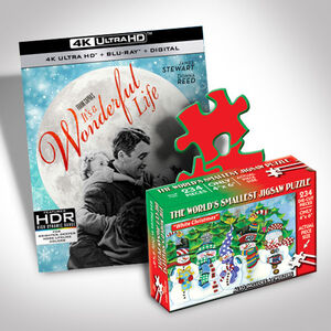It's A Wonderful Life Ultra Hd And Puzzle Bundle