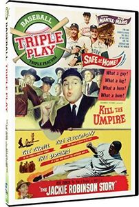 Kill The Umpire, The Jackie Robinson Story, Safe At Home!