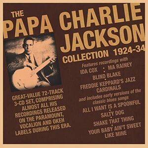 Papa Charlie Jackson Collection 1924-34