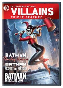 Batman And Harley Quinn Triple Feature