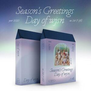 Season's Greetings 2020 (incl. Making of DVD, Desk Calendar, Planner,Hologram Message Postcard, Paper Magnet, Door Paper Diffuser + Badge) [Import]
