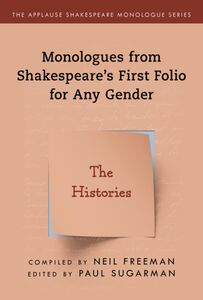 SHAKESPEARES MONOLOGUES FOR ANY GENDER HISTORIES