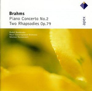 Brahms: Pno Cto No 2 /  2 Rhapsodies Op 79
