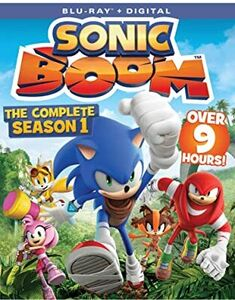 Sonic Boom: The Complete Season 1 BD