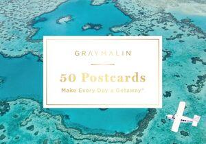 GRAY MALIN 50 POSTCARDS POSTCARD BOOK
