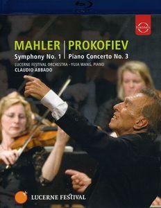 Lucerne Fest /  Mahler Sym 1/  Prokofiev Piano Cto 3
