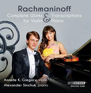Complete Music & Transcriptions for Violin & Piano