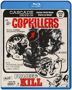 Cop Killers + Project: Kill (Drive-in Double Feature #5)