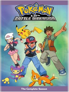 Pokemon The Series: Diamond And Pearl - Battle Dimension CompleteCollection