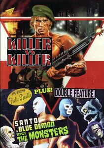 Death Commando/ Santo And Blue Demon Vs. The Monsters