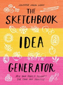 SKETCHBOOK IDEA GENERATOR MIX AND MATCH FLIP BOOK