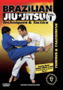 Brazilian Jiu-Jitsu Techniques And Tactics, Vol. 1: Throws AndTakedowns