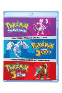 Pokemon: The Movies 1-3 Collection