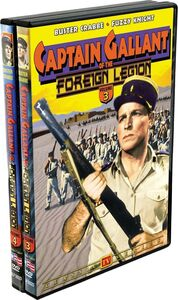 Captain Gallant Of The Foreign Legion, Vol. 3 And 4