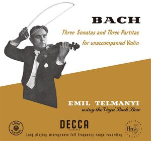Three Sonatas & Three Partitas For Unaccompanied Violin (J.S. Bach)