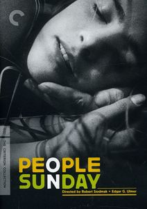 People on Sunday (Criterion Collection)