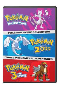 Pokemon: Movies 1-3