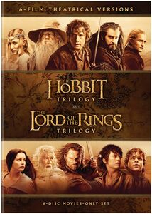 The Hobbit Trilogy /  The Lord of the Rings Trilogy: 6-Film Theatrical Versions