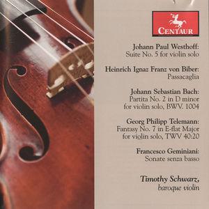 Suite No 5 for Violin Solo /  Partita No 2