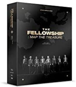 Ateez World Tour The Fellowship: Map the Treasure Seoul DVD (incl.148pg Photobook, 8pc Mini-Poster, Photocard + VR Cardboard) [Import]