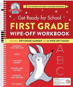 GET READY FOR SCHOOL FIRST GRADE WIPE OFF WORKBOOK